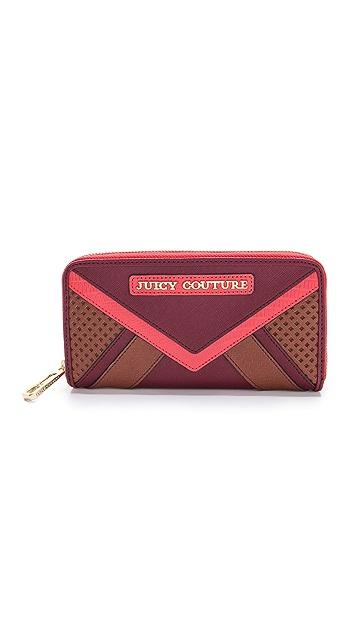 Juicy Couture Sierra Colorblock Zip Continental