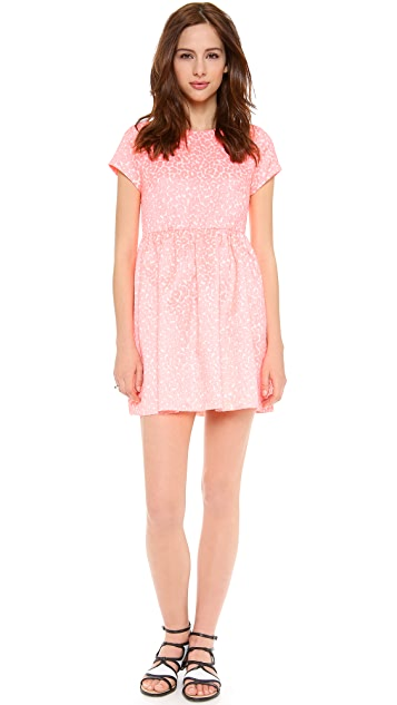 Juicy Couture Wild Cheetah Jacquard Dress
