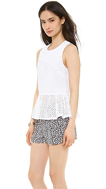 Juicy Couture Eyelet Top