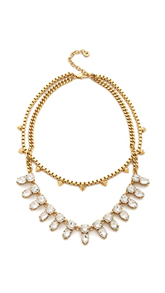Juicy Couture Haute Hue Gemstone Double Layer Necklace