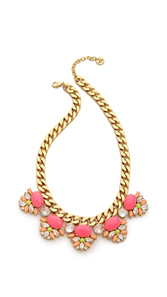 Juicy Couture Haute Hue Gemstone Drama Necklace