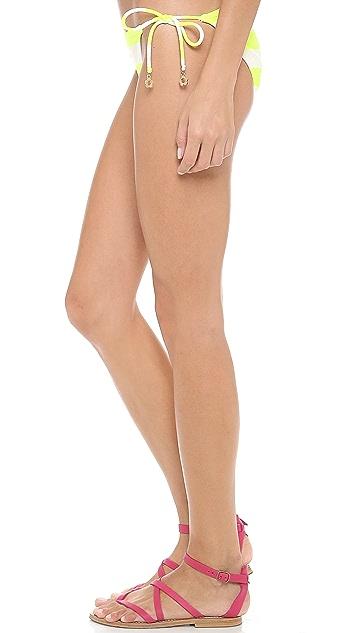 Juicy Couture Sixties Stripe Bikini Bottoms
