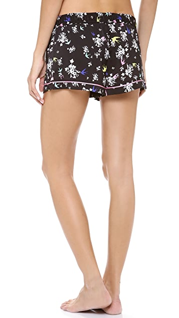 Juicy Couture Valencia Bird PJ Shorts