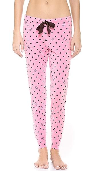 Juicy Couture Grand Heart PJ Pants