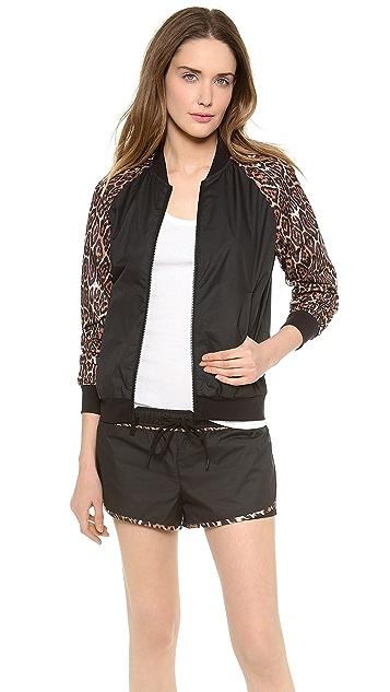 Juicy Couture Juicy Sport Colorblock Bomber Jacket
