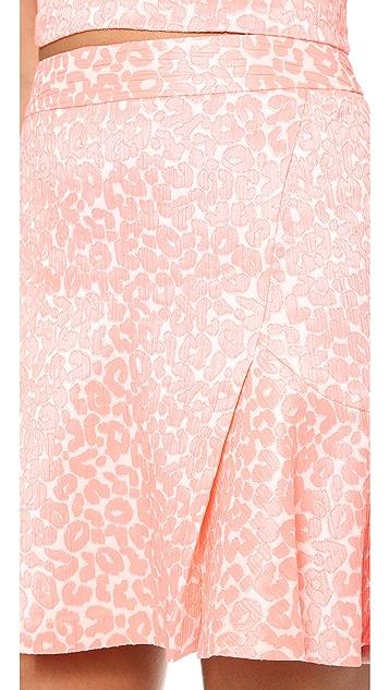 Juicy Couture Wild Cheetah Jacquard Skirt