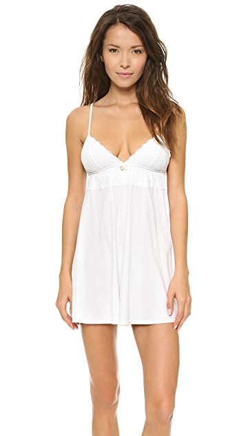 Juicy Couture Eyelet Modal Chemise