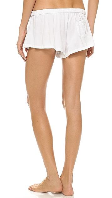 Juicy Couture Eyelet Modal Shorts
