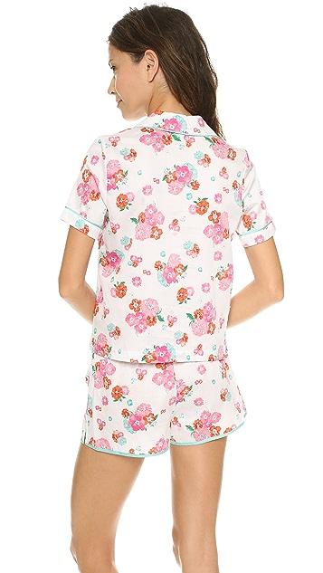 Juicy Couture Printed PJ Top