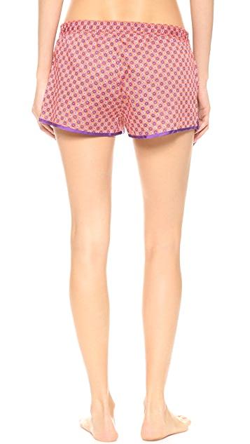 Juicy Couture Printed Sateen PJ Shorts