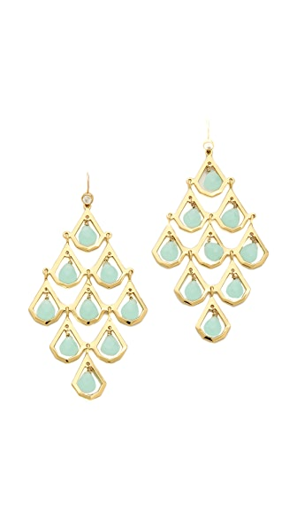 Juicy Couture Stone Chandelier Earrings