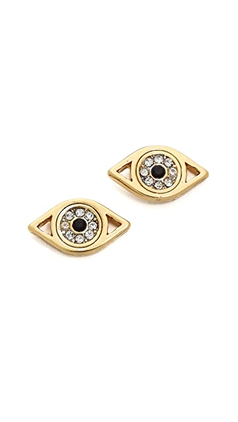 Juicy Couture Evil Eye Stud Earrings