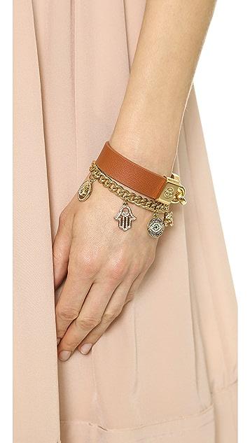 Juicy Couture Pre Assembled Gypset Charm Bracelet