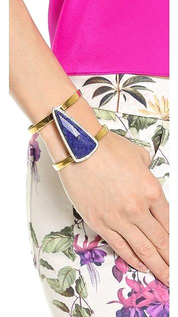 Juicy Couture Large Gemstone Cuff Bracelet