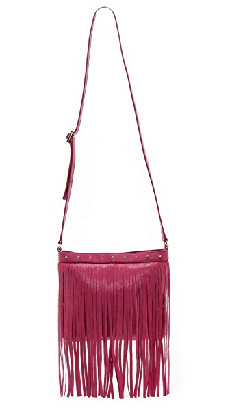 Juicy Couture Heritage Large Fringe Cross Body Bag
