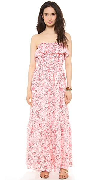 Juicy Couture Ibiza Ruffle Maxi Dress