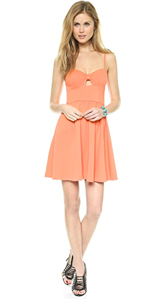 Juicy Couture Ponte Flirty Dress
