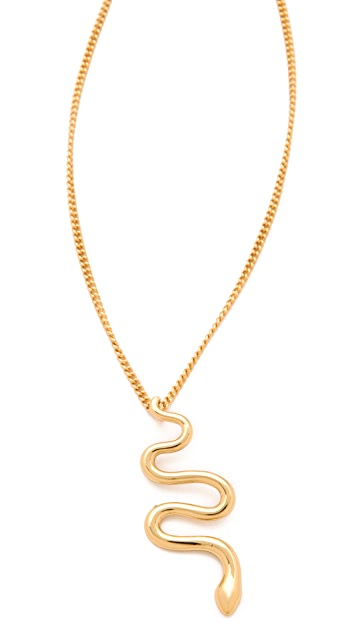 Jules Smith Snake Charmer Necklace