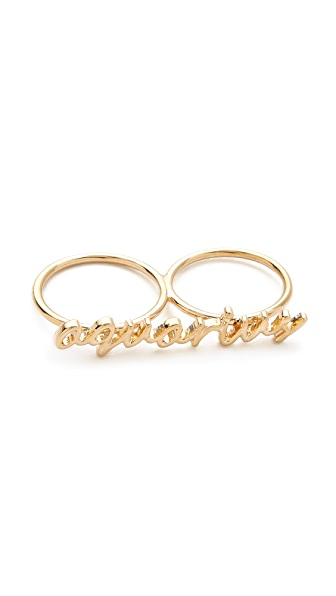 Jules Smith Zodiac Knuckle Ring