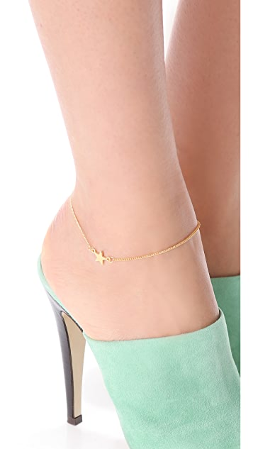 Jules Smith Star Ankle Bracelet