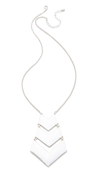 Jules Smith Chevron Necklace