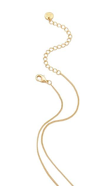 Jules Smith Long Wishbone Necklace