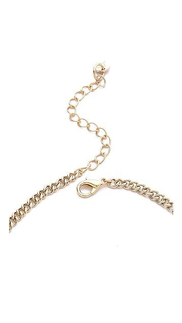 Jules Smith Geo Spike Bib Necklace