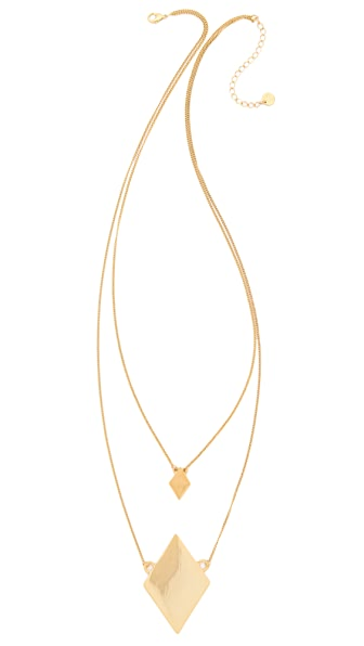 Jules Smith Lotus Long Necklace