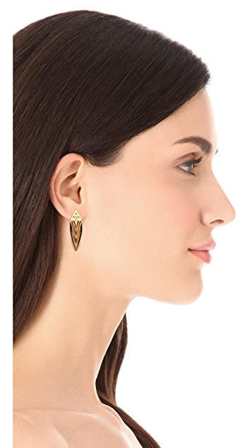 Jules Smith Nature Large Stud Earrings