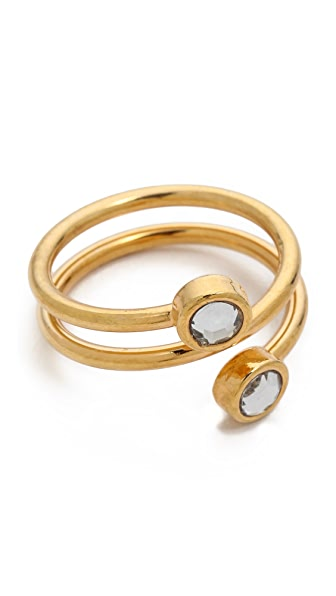 Jules Smith Wrap Around Stone Ring