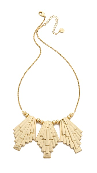 Jules Smith Sunburst Bib Necklace