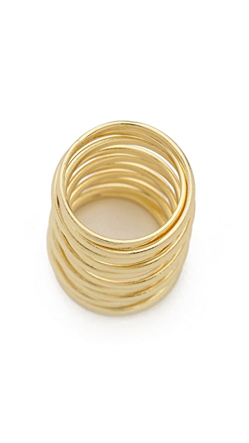 Jules Smith Spiral Cage Ring