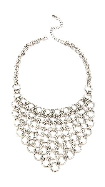 Jules Smith Round Chain Bib Necklace