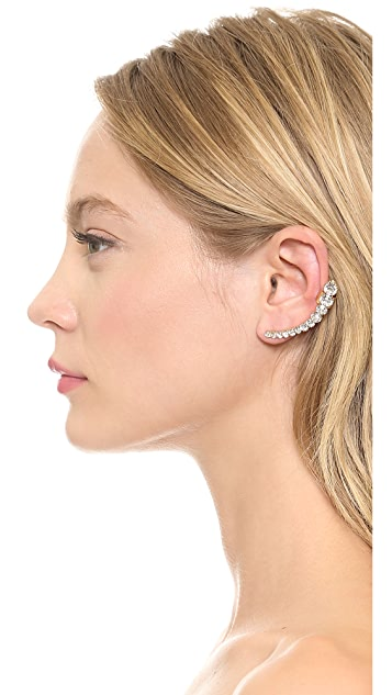 Jules Smith Large Crystal Left Ear Crawler
