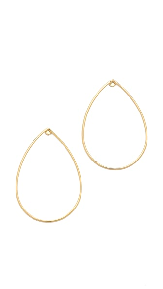 Jules Smith Teardrop Hoop Earrings