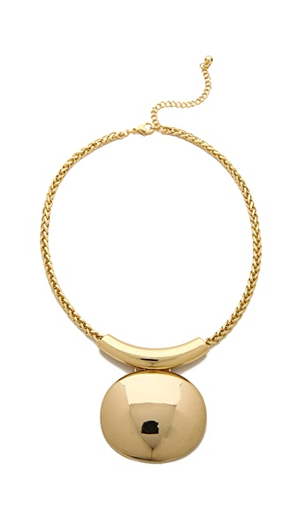 Jules Smith Solid Bar & Disc Necklace