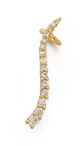 Jules Smith Crystal Pave Left Ear Crawler