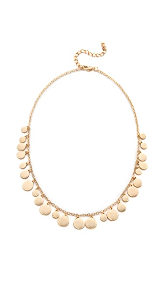 Jules Smith Simple Medallion Necklace - Gold