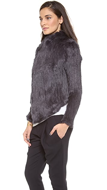 June Rabbit Fur Coat
