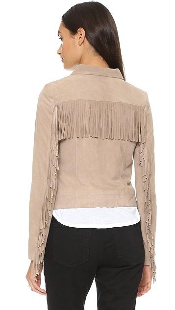 June Suede Fringe Jacket
