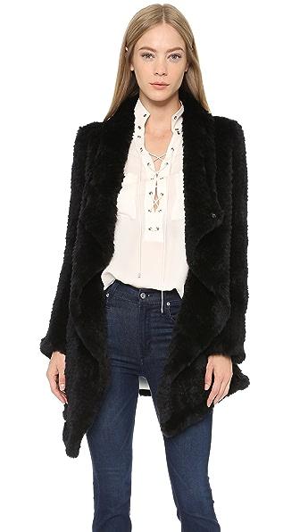June Oversized Fur Coat