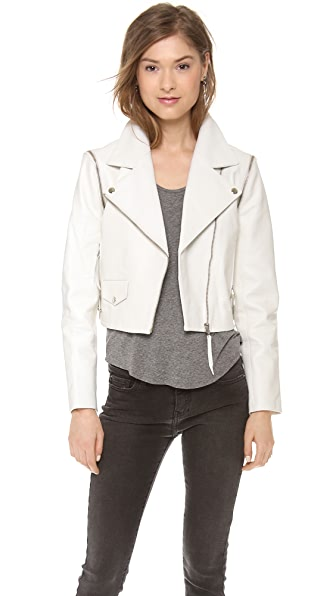 Just Female Dagmar Leather Jacket