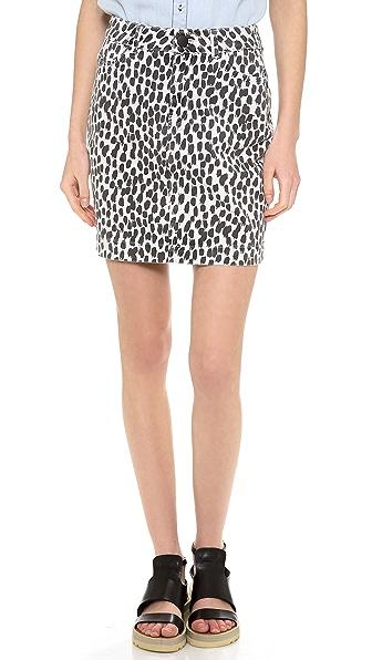 Just Female Ella Denim Skirt