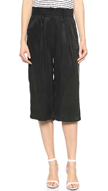 Just Female Port Cropped Pants