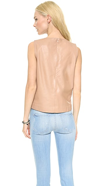 Just Female Moshi Leather Tank