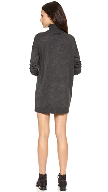 Just Female Link Roll Neck Sweater Dress