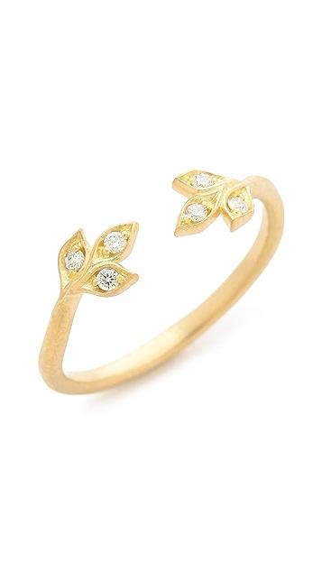Jamie Wolf Petite Leaf Ring