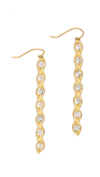 Jamie Wolf Aladdin Dangle Topaz Earrings