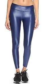 Shiny Metallic Active Legging                KORAL ACTIVEWEAR