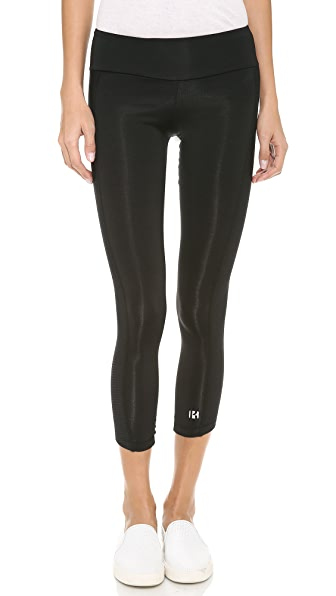 KORAL ACTIVEWEAR Leggings with Contrast Mesh Panels